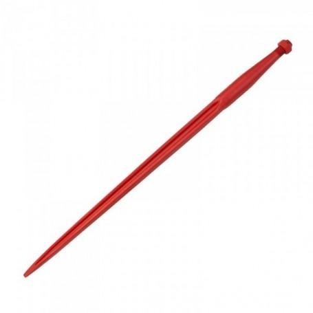 Hrot přední nakládací 1100 mm červený lakovaný