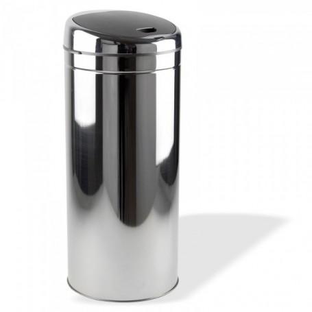 Bezdotykový odpadkový koš 18 L, nerez