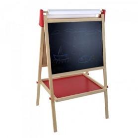 Oboustranná dětská dřevěná tabule