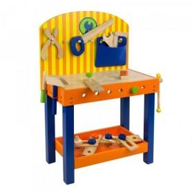 Dětský dřevěný pracovní stůl Benji