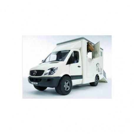 Mercedes Sprinter přeprava zvířat + 1 kůň