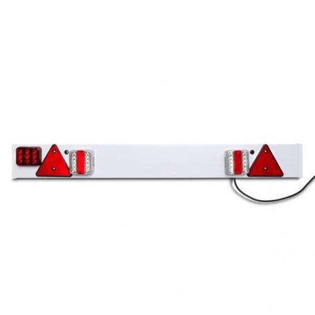 Lišta s LED světly a mlhovým světlem pro přívěs