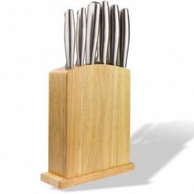 Sada nožů v dřevěném bloku, 7-dílná
