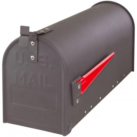 Americká poštovní schránka, antracit