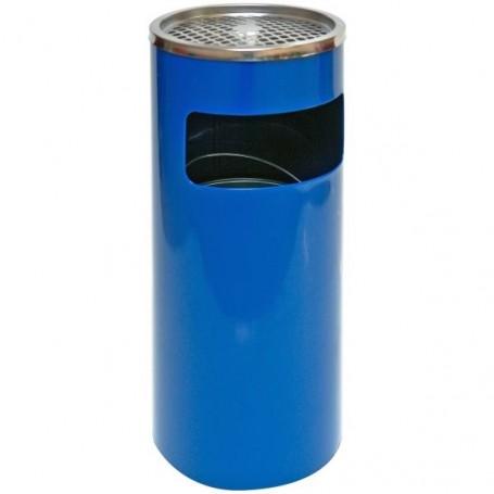 Popelník s košem 25x61 cm, modrý