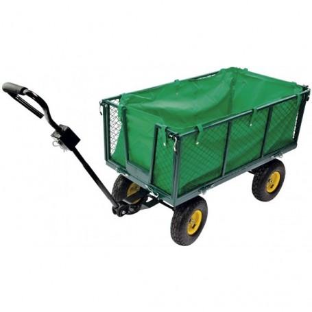 Ruční vozík se sklápěcími bočnicemi 160 L Green