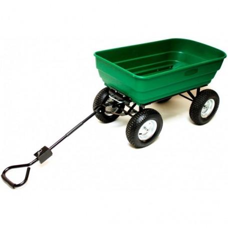 Ruční výklopný vozík 130 L XL