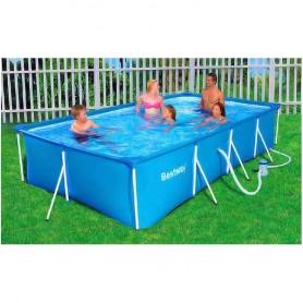 Bazén Steel Pro 400x211x81 cm s filtrací