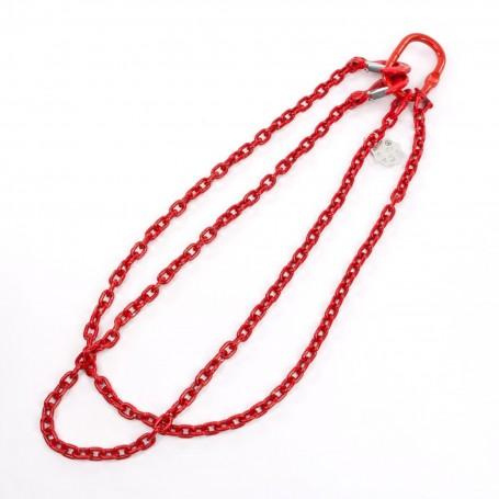 Řetěz dvojitá 8 mm, délka 2 m