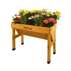 Dřevěný květináč Wall Hugger, small