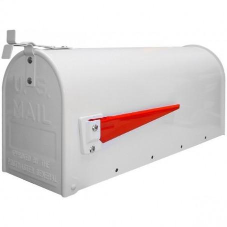 Americká poštovní schránka, bílá