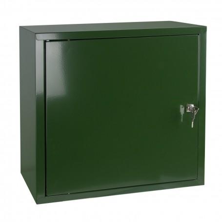 Nástěnná skříňka uzamykatelná 51x47x20 cm, zelená
