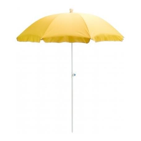 Slunečník UV30 180 cm žlutý