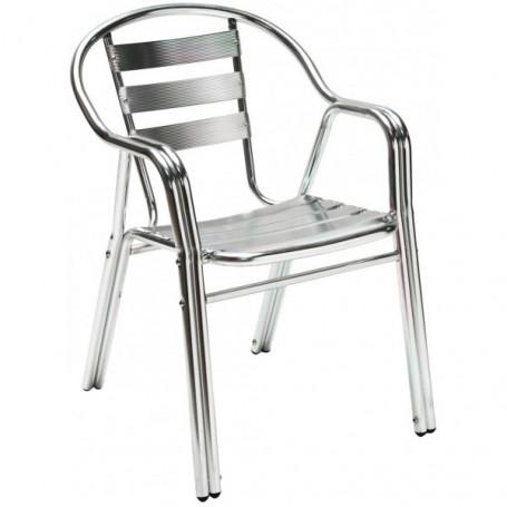 Hliníková zahradní židle Twin