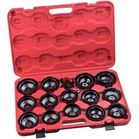 Sada klíčů na olejový filtr 30-dílná