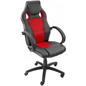 Kancelářská židle Clermont, červená