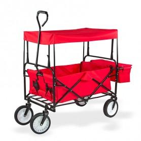 Ruční vozík se stříškou Sunny