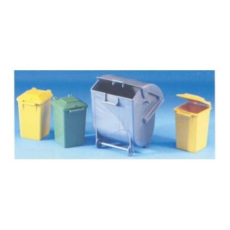 set odpadkových nádob