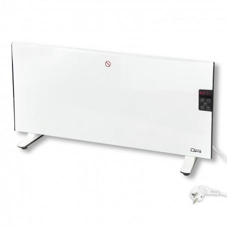 Elektrický ohřívač 1000 W LED s panelom