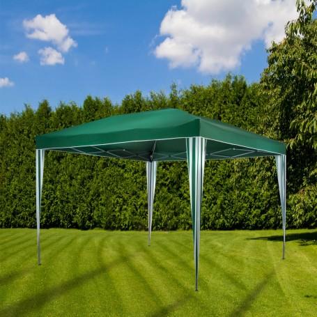 Skládací pavilon zelený