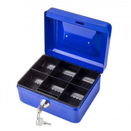 Pokladnička DGK150 modrá 14 x 12 x 8 cm