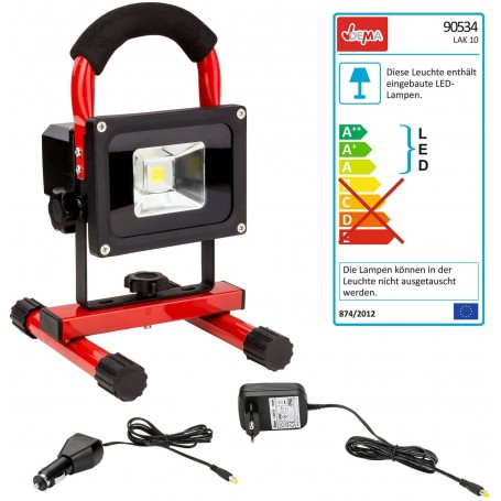 Akumulátorové LED pracovní světlo / reflektor LAK10
