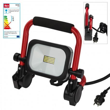 Přenosný LED stavební reflektor 10 W