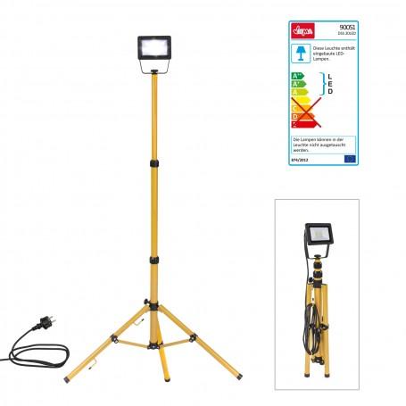 Teleskopický stativ s LED reflektorem Slim 20 W
