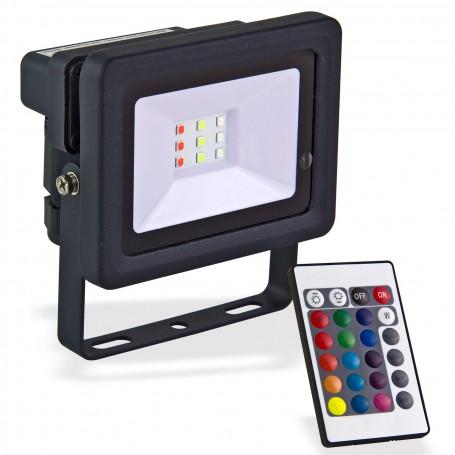 LED reflektor 10 W měnící barvy
