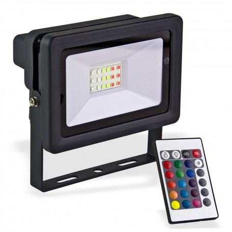 LED reflektor 20 W měnící barvy