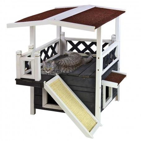 Domeček pro kočky Anubis