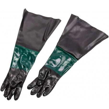 Ochranné rukavice na pískování
