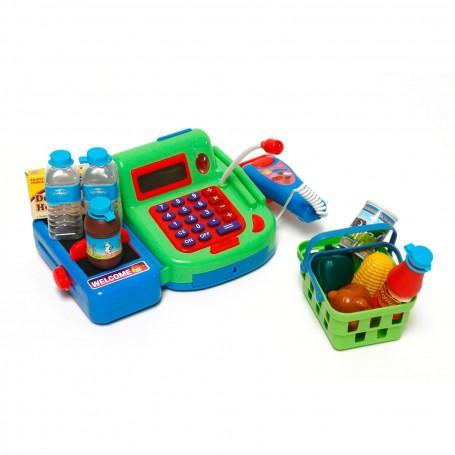 Pokladna dětská elektronická