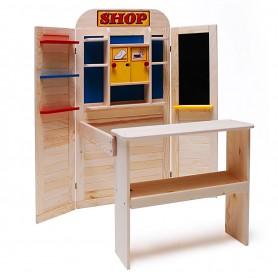 Dřevěný dětský obchod Eichhorn