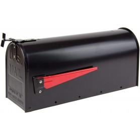 Hliníková americká poštovní schránka, černá