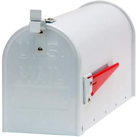 Hliníková americká poštovní schránka, bílá