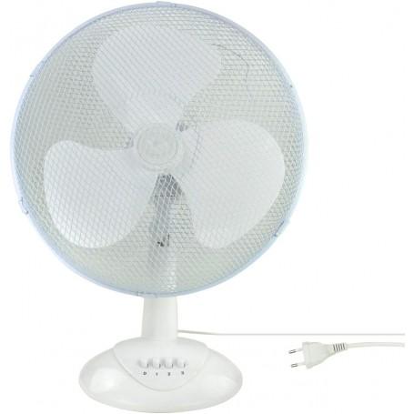 Stolní ventilátor 34 cm 45 W TV45, bílý