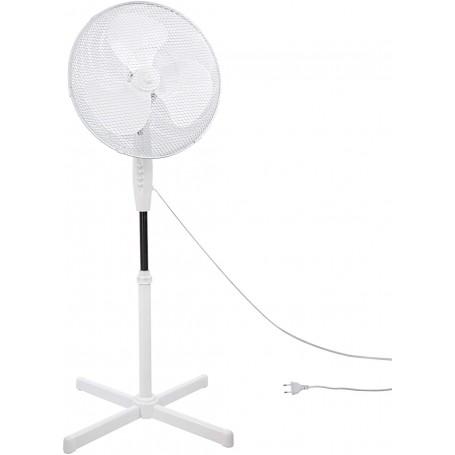 Stojanový ventilátor 45 cm bílý SV45