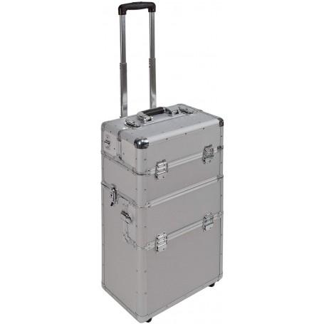 Hliníkový pojízdný kufr na nářadí 3v1 AluTrolley