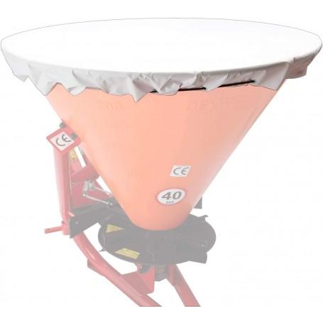Krycí plachta pro rozmetadlo hnojiva a zimního posypu 400 L, bílá