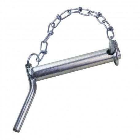 Spojovací čep s pojistným kolíkem na řetízku kat. II