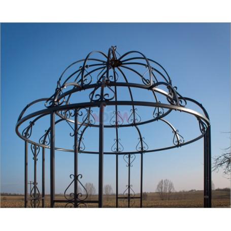 Kovový zahradní pavilon Antik