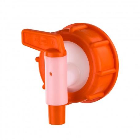 Plastový výpustný kohoutek s převlečnou maticí NW 10