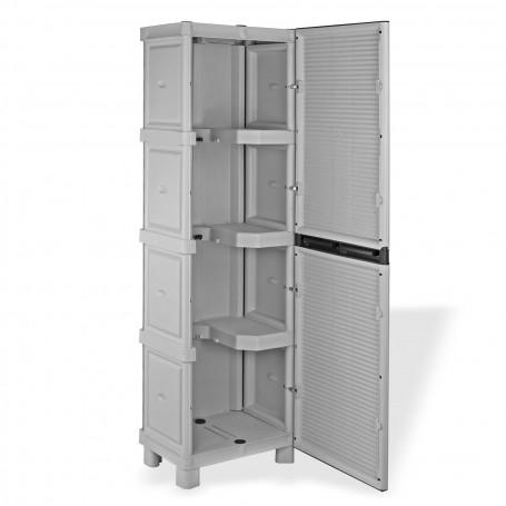 Plastová skříň na úklidové pomůcky 50x39x172 cm C50 / 172 PS
