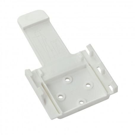 PVC držák na brzdící klín pro přívěs, bílý