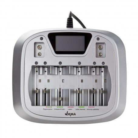 Elektronická nabíječka baterií AA/AAA/C/D/9V AL8