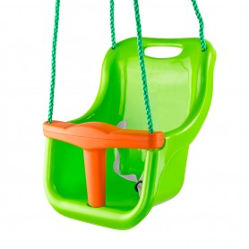 Dětská houpačka 3v1, zelená