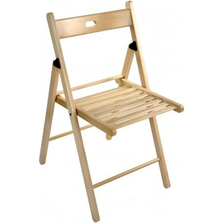 Dřevěná sklopná židle Buche