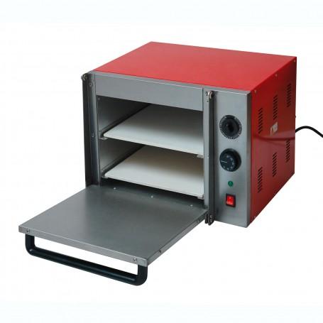 Elektrická pec na pizzu dvoupatrová PO-2X30 230 V 1,8 kW