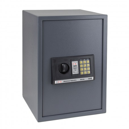 Nábytkový digitální trezor 65 L 35x36x52 cm
